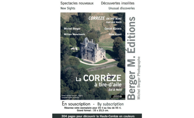 Project visual La Corrèze à tire-d'aile