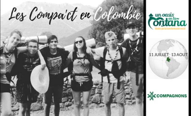 Visuel du projet Les Compa'ct - Projet solidaire compagnon en Colombie