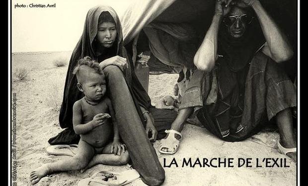 Visuel du projet La marche de l'exil