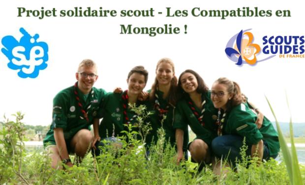 Visueel van project Solidarité scoute en Mongolie : les Compagnons à l'action !