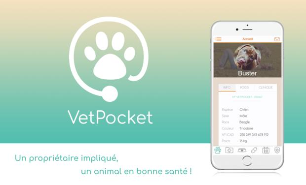 Visuel du projet L'application VetPocket, le carnet de santé de mon animal !
