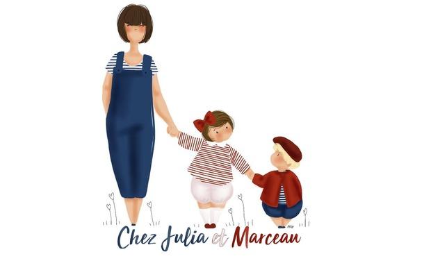 """Visuel du projet Une boutique éphémère pour """"Chez Julia et Marceau"""""""
