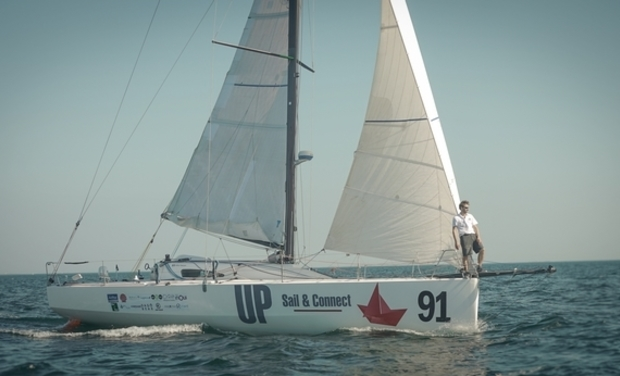 Visuel du projet UP Sail & Connect - dernière ligne droite