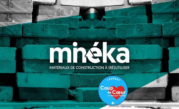 Visuel du projet Minéka, Matériaux de construction à (ré)utiliser