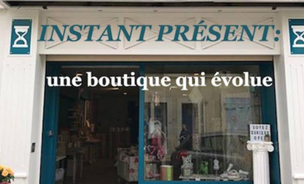 Project visual INSTANT PRÉSENT: une boutique qui évolue