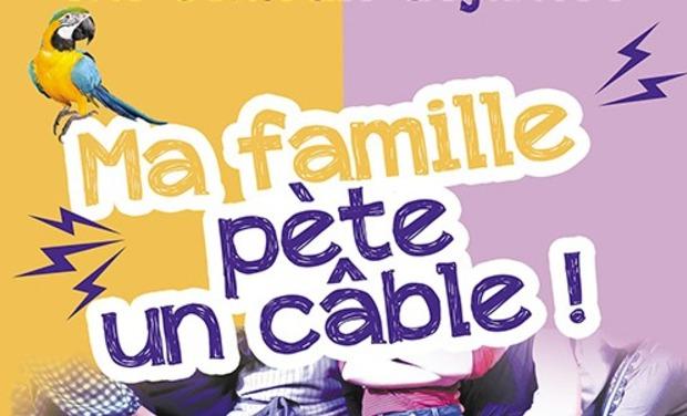 Visuel du projet Ma famille pète un câble au festival d'Avignon 2018 !