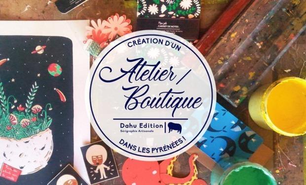 Visuel du projet Dahu Edition crée un Atelier/Boutique au coeur des Pyrénées