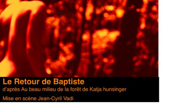 Project visual Le Retour de Baptiste / coréalisation franco-lituanienne