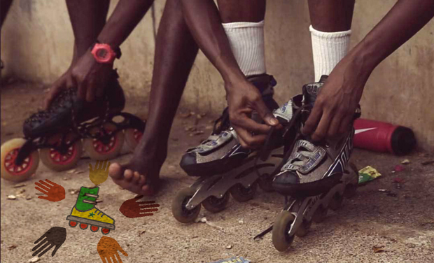 Project visual Rollerblades for kids in Senegal