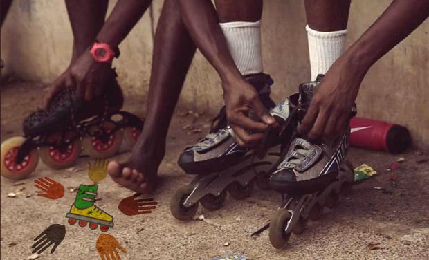 Visuel du projet Rollerblades for kids in Senegal