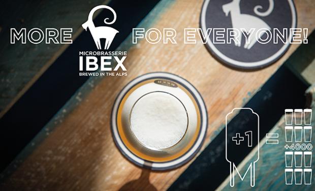 Visuel du projet Plus de bière Ibex! More Ibex beer!