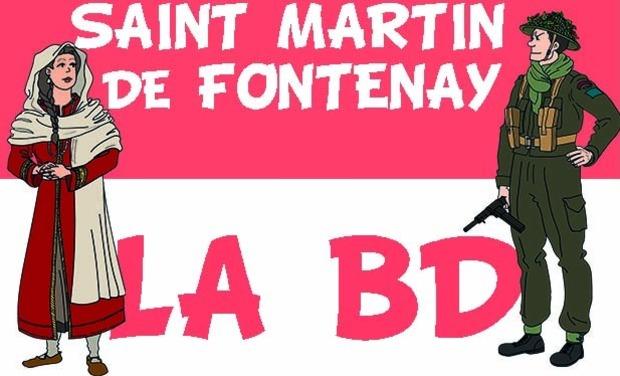 Visuel du projet Saint Martin de Fontenay, la BD