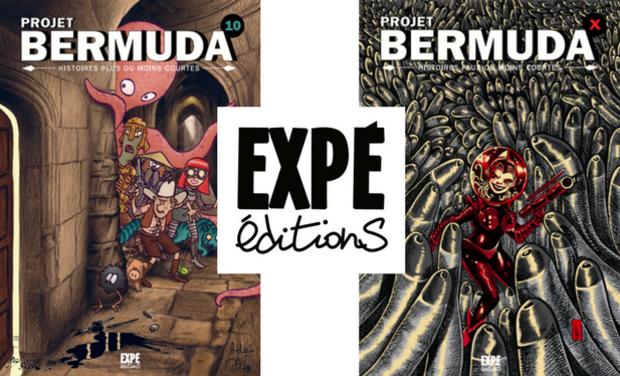 Projet Bermuda 10 et X, recueils d'histoires plus ou moins courtes en BD !