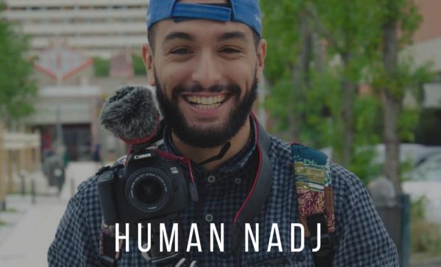 Visuel du projet Human Nadj