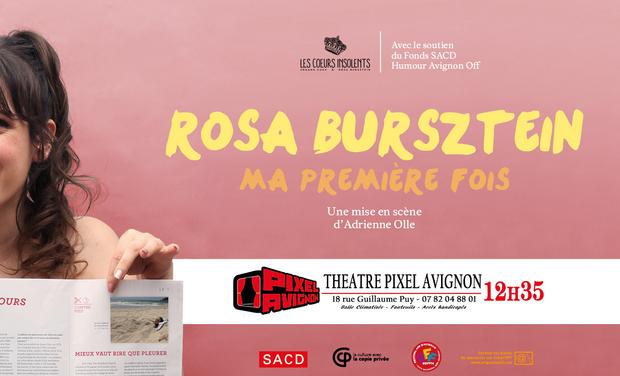 Visuel du projet Ma Première Fois au Festival d'Avignon!