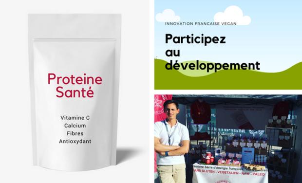 Project visual proteine santé