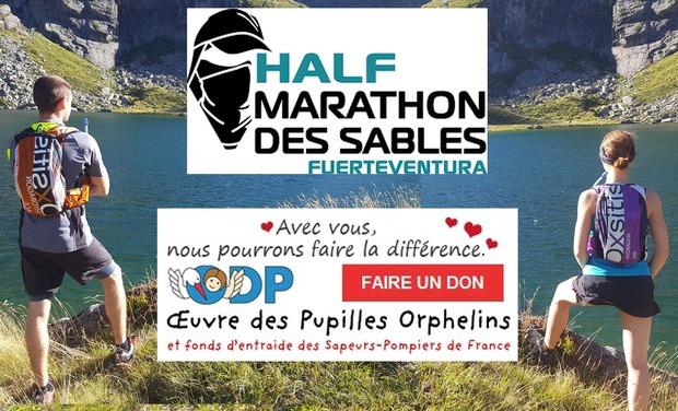 Visueel van project Half Marathon des sables solidaire pour les pupilles des sapeurs pompiers