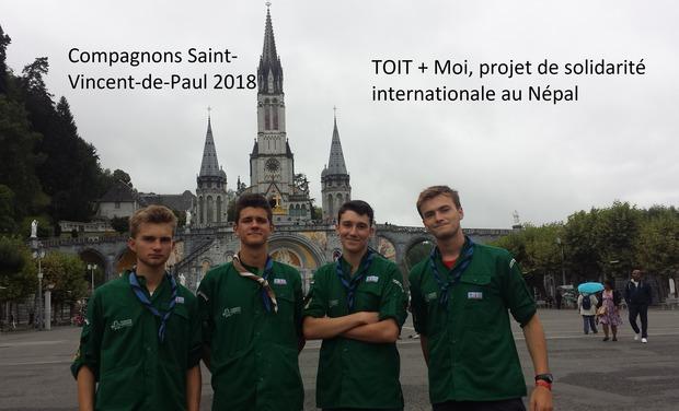 Visuel du projet TOIT + Moi - Projet Solidarité Népal 2018 Compagnons SVP