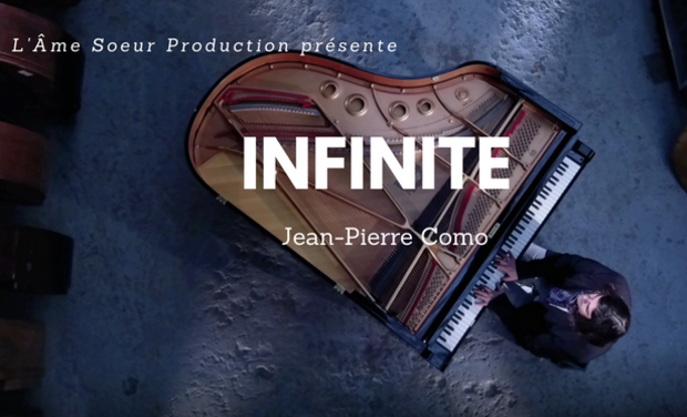 Project visual Jean-Pierre Como création du CD Infinite