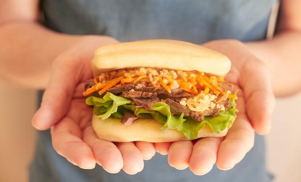 Visuel du projet KOOC BAO - le Burger Taïwanais