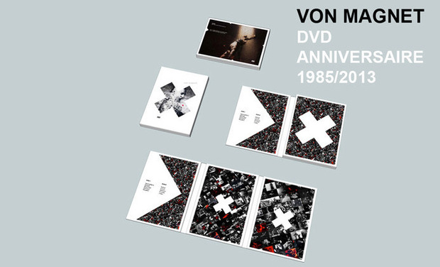 Project visual DVD ANNIVERSAIRE VON MAGNET (1985/2013)
