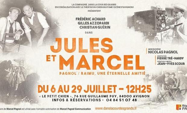 """Visuel du projet """"Jules et Marcel"""" en route pour Avignon"""