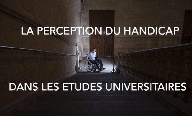 Visueel van project La perception du handicap dans les études universitaires