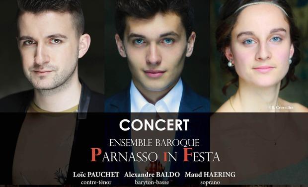 Visuel du projet Concert de l'ensemble Parnasso in Festa à Lille