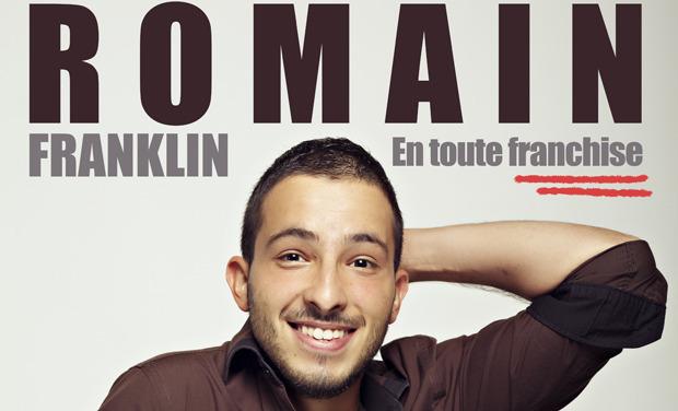 Visuel du projet Romain Franklin, En toute Franchise ! (One Man Show)