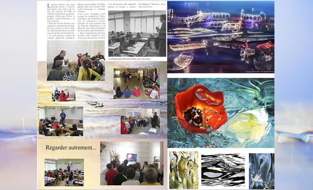 Project visual L' art, l'innovation, le partage avec nos enfants!