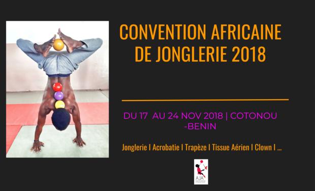Visuel du projet Convention Africaine de Jonglerie 2018