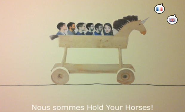 Visuel du projet Hold Your Horses - First album