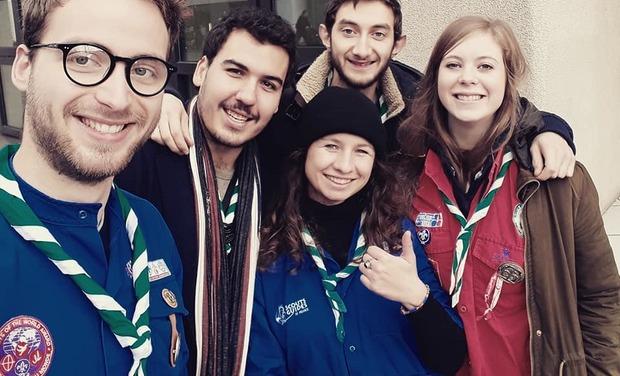 Visuel du projet Les Pous'cinq en Bulgarie - projet solidaire JADE SGDF