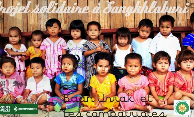 Visueel van project Projet de solidarité internationale en Thaïlande avec Baan Unrak Foundation