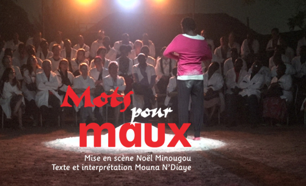 Project visual Spectacle Maux pour Mots
