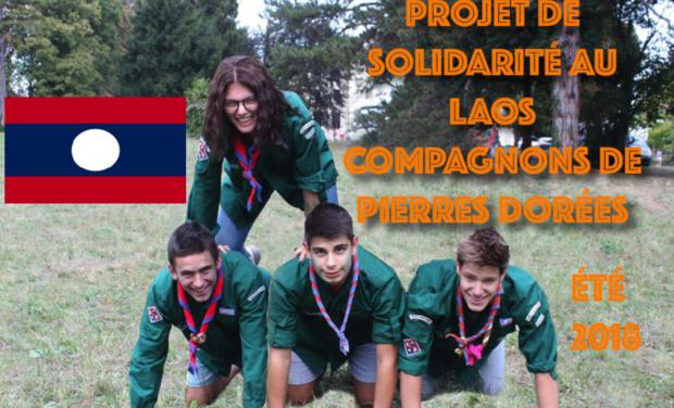 Visueel van project Les compagnons de Pierres Dorées au Laos!