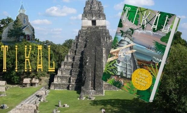 Visuel du projet Tikal : un livre dont tu es le héros, de Val-David jusqu'à l'Empire maya
