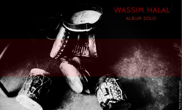 Visuel du projet Wassim HALAL // Album solo - triptyque
