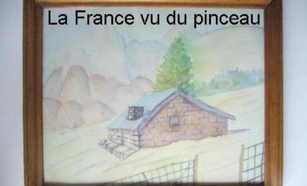 Visueel van project La France vue du pinceau