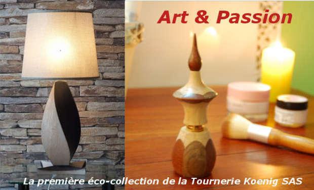 Project visual La Tournerie Koenig présente son eco-collection Art et Passion