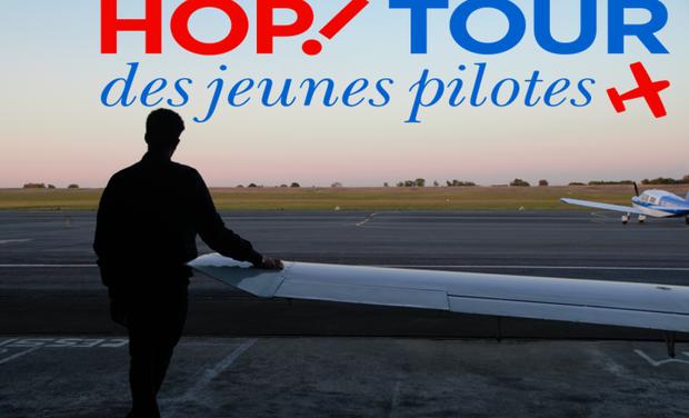 Visuel du projet HOP! Tour Aérien des Jeunes Pilotes 2018 - Nicolas TIN
