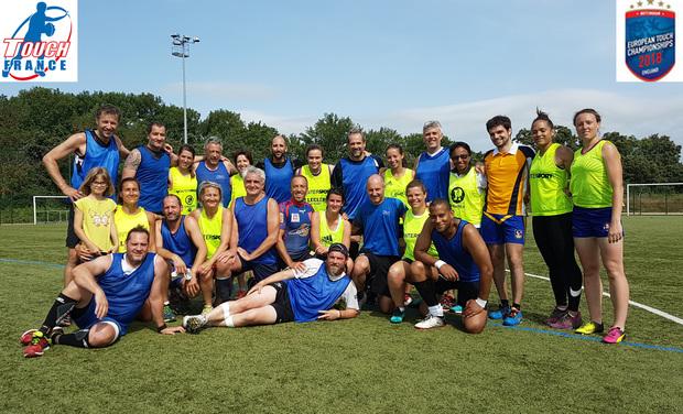 Visuel du projet Équipe de France de Touch Rugby - Hommes +45 ans