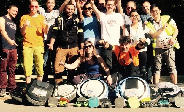 Visuel du projet Go to WheelsGames (Bruxelles-Monségur) Roadtrip 1300km