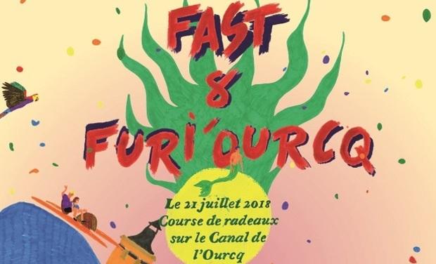 """Project visual Course de radeaux """"Fast & Furi'Ourcq"""" à Pantin"""