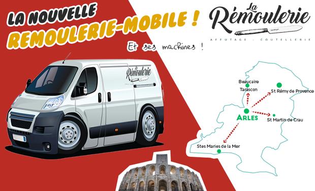 Visuel du projet La Rémoulerie-mobile, pour affûter plus loin !