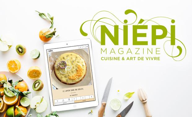 Visuel du projet Le site Niépi : l'art de vivre sain et gourmand