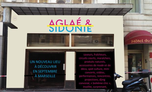 Visuel du projet Aglaé & Sidonie, un lieu de vie artistique et une boutique au coeur de Marseille