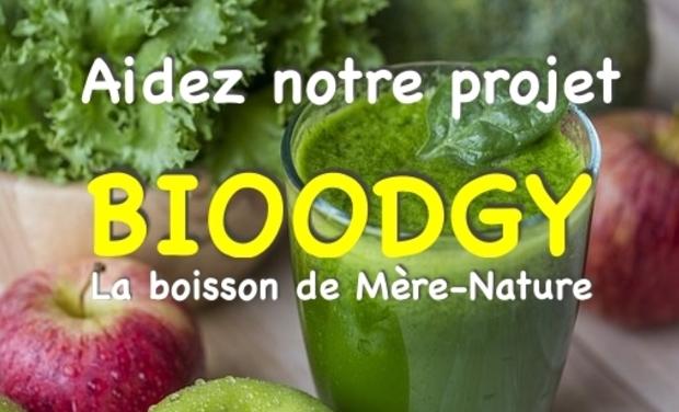 Visuel du projet # BIOODGY, des jus bio pour toutes les occasions...