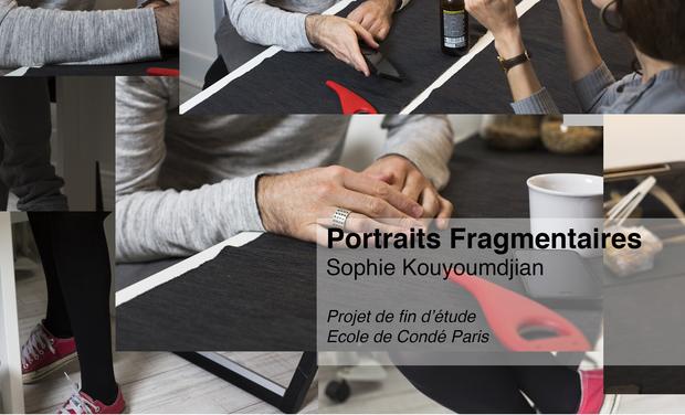 Visuel du projet Portraits fragmentaires
