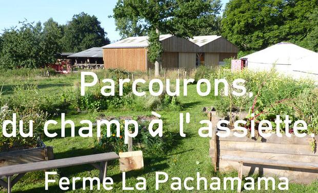 Visuel du projet Projet PARCOURONS, Du champ à l'assiette...